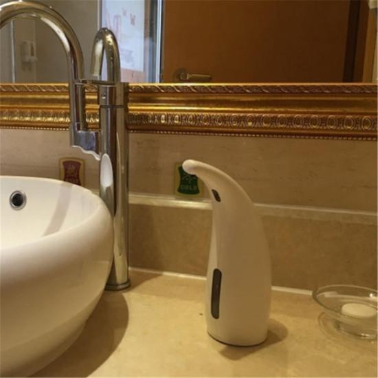 300 ml Automatyczny dozownik mydła Auto czujnik Płynna inteligentna myjka do rąk Łazienka