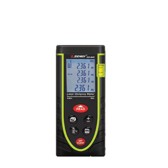 SNDWAY 40m-120m Ręczny dalmierz laserowy Wysokiej precyzji Przyrząd do pomiaru podczerwieni Laserowy miernik odległości