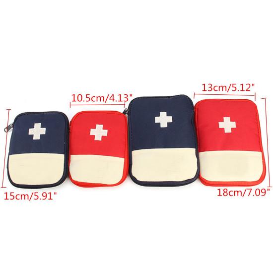 Podróżna przenośna torba do przechowywania Pierwsza pomoc Torba ratunkowa Outdoor Pill Survival Organizer Pakiet zestawów ratunkowych