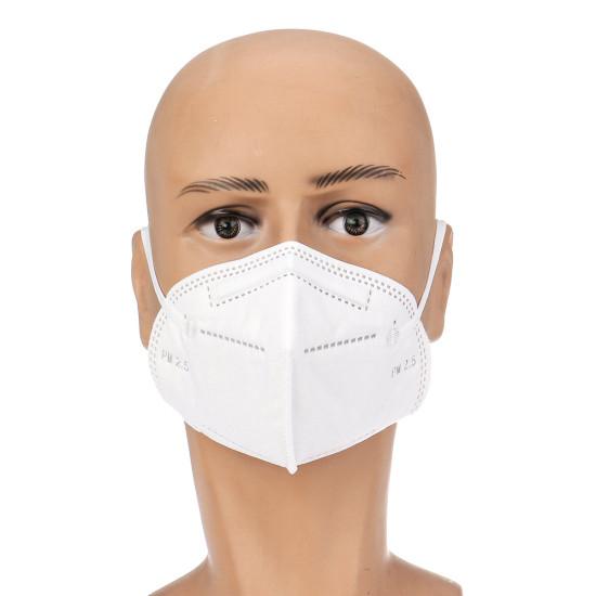 KN95 N95 Maska 2szt. Wysokiej jakości filtr na usta. Pyłoszczelny respirator na cząstki stałe maski