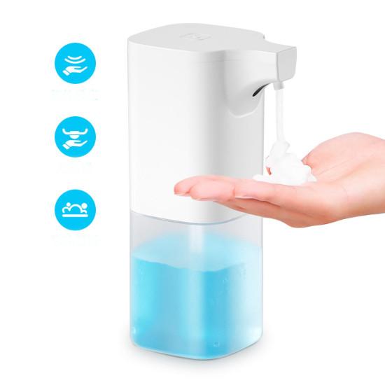 Xiaowei X6 350 ml Automatyczny dozownik mydła IR Czujnik Dozownik płynu w piance Wodoodporna myjka ręczna Pompa dozownika mydła
