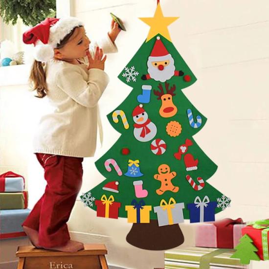 DIY felt Christmas tree (Best Gift For Children)