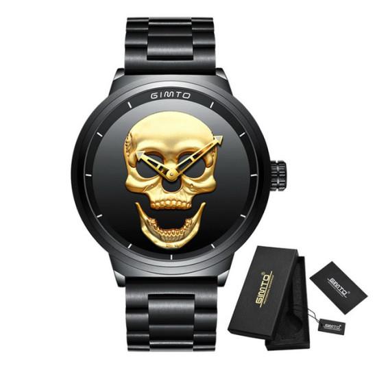 Zegarek czaszki