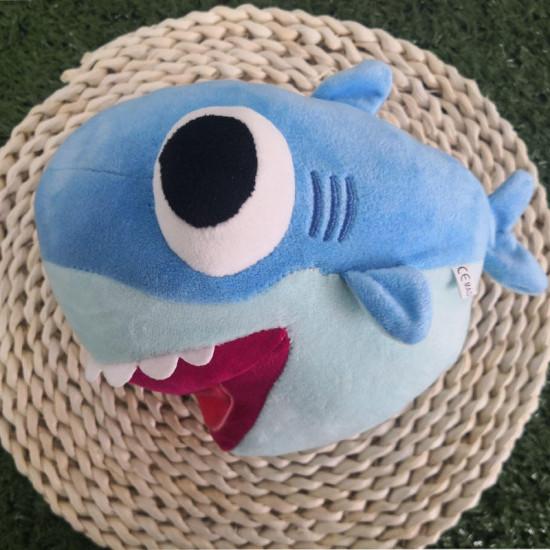 25cm duże oczy Shark pluszowa zabawka pluszowy rekin zwierząt Soft nadziewane lalki dla dzieci prezent