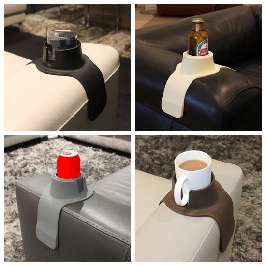 Couch Coaster Silikonowy Sofa Drinks Cup Holder Podłokietnik Stand