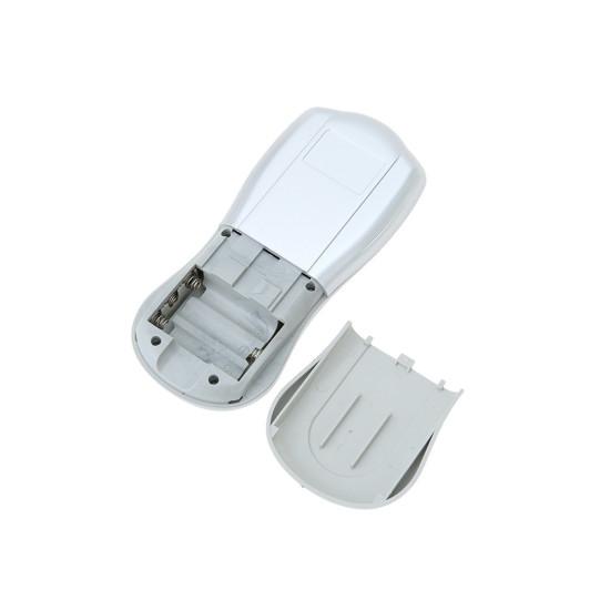 Carevas 8 Mode Eletronic Stymulator mięśni Dziesiątki Jednostka Podświetlenie LCD Akumulator Masaż pulsowy Ulgę w bólu Terapia maszynowa 15 Intensywność